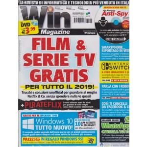 Win magazine - n. 251 - novembre 2018 - mensile - versione plus - rivista + DVD