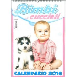 Calendario 2016 Bimbi ...e Cuccioli - cm. 29 x 42 con spirale