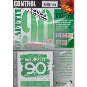 Graffiti 90 - rivista + cd  - bimestrale - dicembre - gennaio 2019