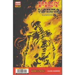 IRON FIST L'ARMA VIVENTE 4 - MARVEL TALES 15 - Marvel Italia Panini comics