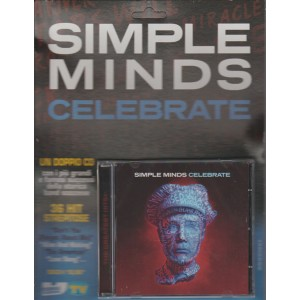 "Doppio Cd Sorrisi e Canzoni TV - Simple Minds ""Celebrate"""