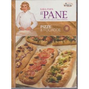 Accademia Del Pane di Sara Papa -Pizze e Focacce n.9-DVD+Libro