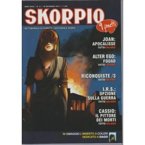 Skorpio - settimanale di fumetti n. 47 -26 Novembre 2015  Editoriale Aurea