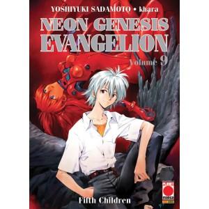 Manga: NEON GENESIS EVANGELION 9 - NEW COLLECTION - Planet manga Panini comics