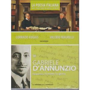 DVD n. 9 La Poesia Italiana-Gabriele d'Annunzio - la guerra, la notte, la gloria