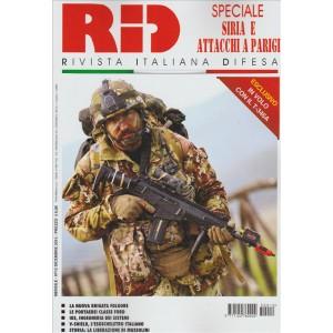 RID Rivista italiana difesa - mensile n. 12 Dicembre 2015