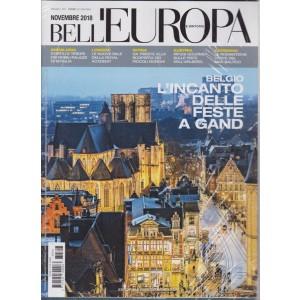Bell'Europa e dintorni + Il calendario Bell'Europa 2019 - 12 foto d'autore - n. 307 - novembre 2018 - mensile