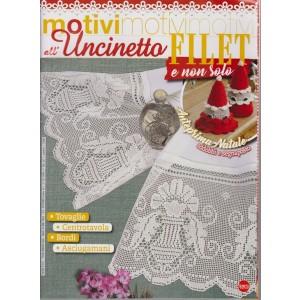 Motivi All'uncinetto - Filet e non solo - n. 38 - bimestrale - novembre . dicembre 2018