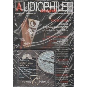 Audiophile Sound - mensile n. 147 Novembre 2015 + CD The Vinyl Collection