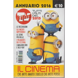 Annuario 2016 di FILM TV - Tutti i film del 2015