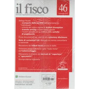 Il Fisco - settimanale n. 46 - 7 Dicembre 2015