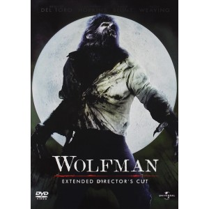 Wolfman (Extended Director's Cut) - Benicio Del Toro - DVD