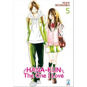 Manga HANA-KUN, THE ONE I LOVE vol. 5 Star comics editore - coll. UP n.143