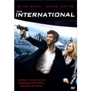 The International - Clive Owen, Naomi Watts - DVD