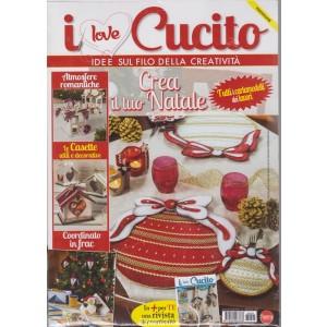 I Love Cucito Pack Extra - n. 5 - bimestrale - novembre - dicembre 2018 - 2 riviste