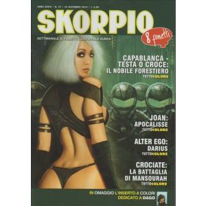 Skorpio - Settimanale di fumetti n. 52 - 24 Dicembre 2015 Editoriale Aurea