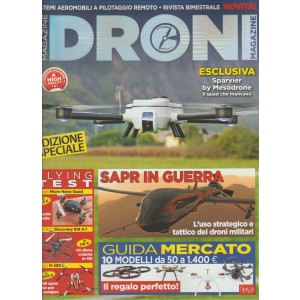 Droni Magazine - Bimestrale n. 4 Dic.2015/Gen.2016