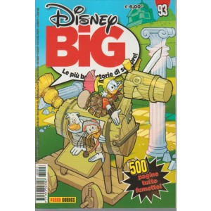 Disney BIG le più belle storie di sempre - mensile n.93 Gennaio 2016