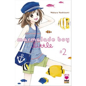 Manga: MARMALADE BOY LITTLE 2 - MANGA RAINBOW 22 - Planet Manga Panini Comics