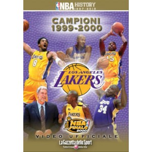 LOS ANGELES LAKERS CAMPIONI 2000 n.4