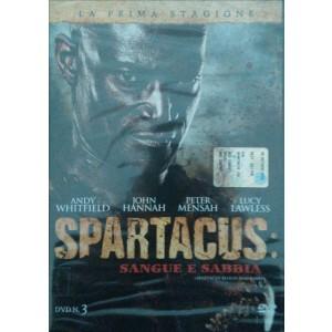 Spartacus - Sangue E Sabbia - Stagione 01 - DVD n.3