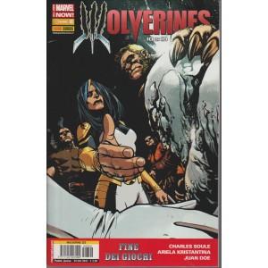 WOLVERINE 322 - WOLVERINES 10 di 10- Marvel italia Panini comics