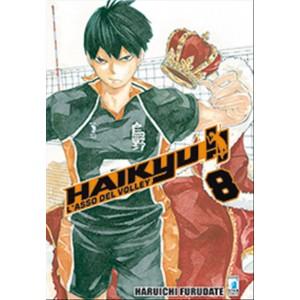 Manga: HAIKYU!! vol. 8 - ediz.Star Comics coll. Target n.56