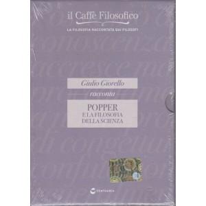 DVD il caffè filosofico vol. 17 Giulio Giorello racconta Popper