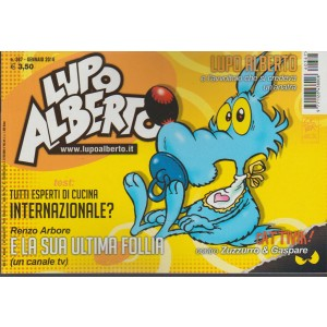 LUPO ALBERTO - mensile n. 367 Gennaio 2016