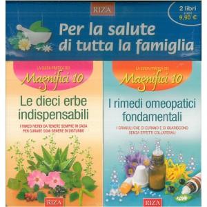 Offerta RIZA - Le 10 erbe indispensabili + I rimedi omeopatici fondamentali