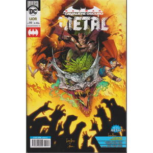 Batman Il Cavaliere oscuro Metal - n. 73 - mensile - 21 settembre 2018
