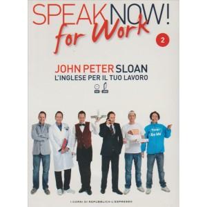 Corso di Inglese DVD+libro SPEAK NOW FOR WORK 2° vol.-by Repub./l'Espresso