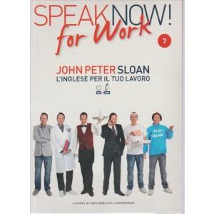 Corso di Inglese DVD+libro SPEAK NOW FOR WORK 7° vol.-by Repub./l'Espresso