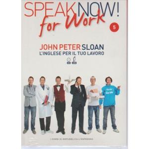 Corso di Inglese DVD+libro SPEAK NOW FOR WORK 5° vol.-by Repub./l'Espresso