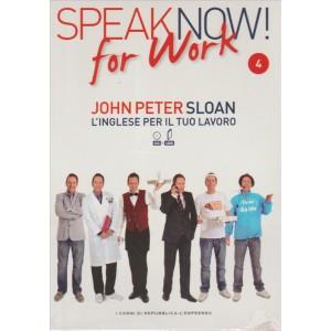 Corso di Inglese DVD+libro SPEAK NOW FOR WORK 4° vol.-by Repub./l'Espresso
