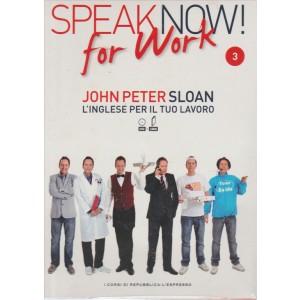 Corso di Inglese DVD+libro SPEAK NOW FOR WORK 3° vol.-by Repub./l'Espresso