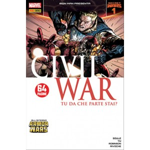 IRON MAN & NEW AVENGERS 33 - IRON MAN PRESENTA CIVIL WAR 1 - Marvel Italia
