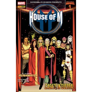 INCREDIBILI AVENGERS 29 - INCREDIBILI AVENGERS PRESENTA HOUSE OF M 1