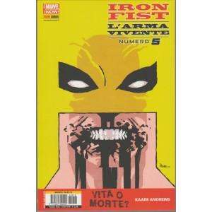IRON FIST L'ARMA VIVENTE 5 - MARVEL TALES 16 - Marvel Italia