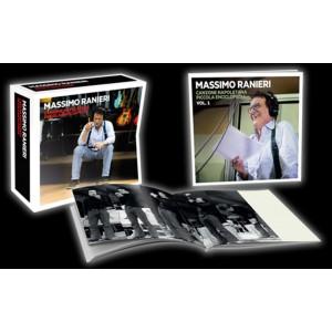 CD Massimo Ranieri vol.1+ cofanetto-canzone Napoletana piccola enciclopedia