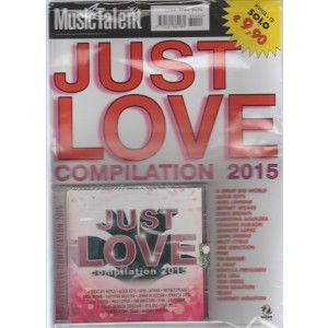 CD Just Love compilation 2015