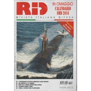 RID Rivista italiana difesa - mensile n. 2 Febbraio 2016