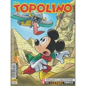 Topolino - n.3140 - disney - panini comics