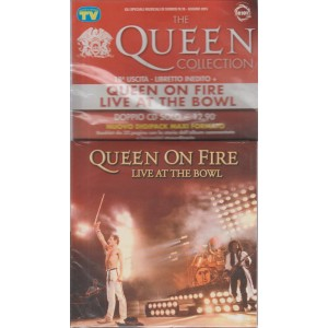 The Queen collection n. 18 libretto inedito +Queen on fire live at the bowl
