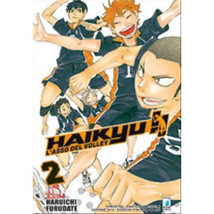 Manga HAIKYU!!  n.2 - ed. Star Comics - collana Target  uscita 44
