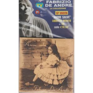 FABRIZIO DE ANDRE' LA COLLEZIONE. N. 13 ANIME SALVE LIBRETTO INEDITO + CD