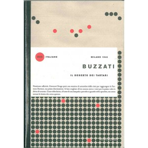 libro 900 italiano - IL DESERTO DEI TARTARI di Buzzati