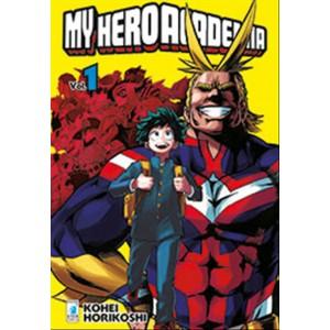 Manga: MY HERO ACADEMIA #1 - Star Comics - collana Dragon #212