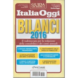 BILANCI  2016 - Guida giuridica di Italia Oggi - in edicola 10/02/2016