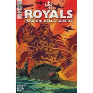 VERTIGO PRESENTA 34 – THE ROYALS – I SIGNORI DELLA GUERRA 03-DC Comics Lion